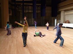 【報告】 コンタクト・インプロビゼーションダンス事始め(ワークショップ)#第1回が開催されました。