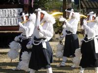 菱刈町の錫杖踊(下手錫杖踊)