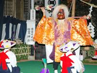 湯之尾神社の神舞