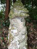 箱崎神社の龍形石灯籠