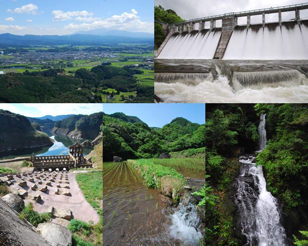 豊かな水資源