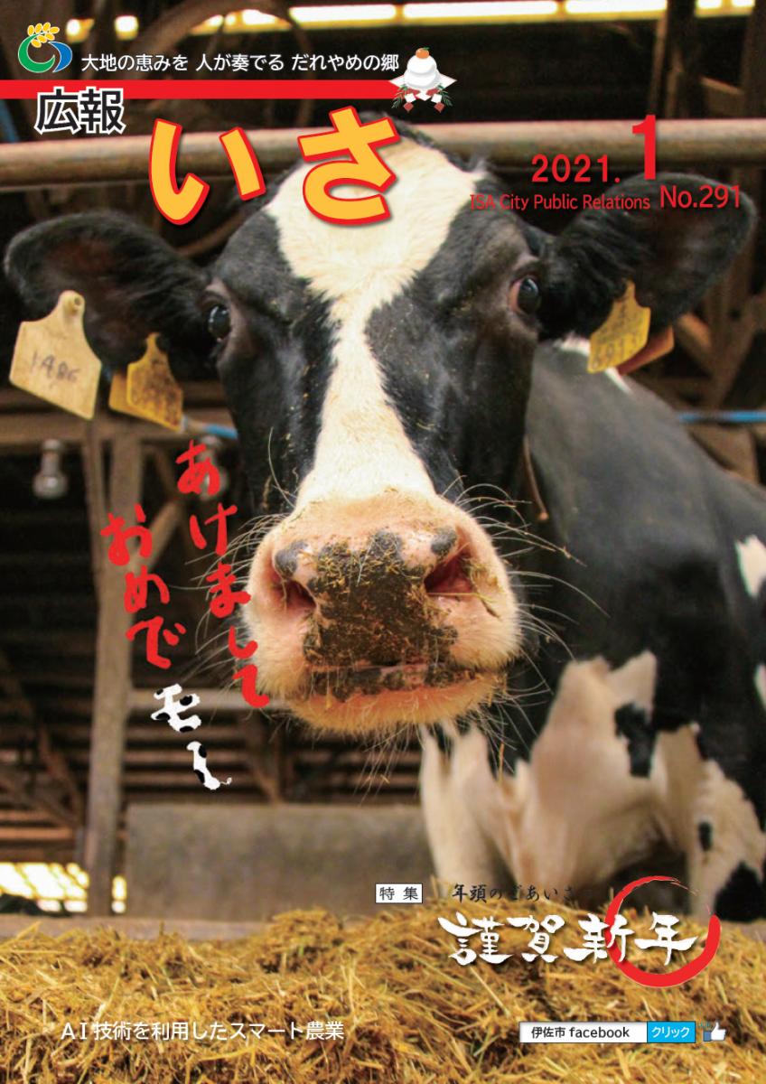 広報いさ№291(2021/1/1)